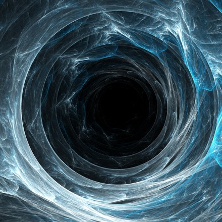 Black Hole For Blue Swirl